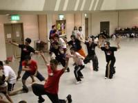 11ダンス振り落とし(ガンブーツ)